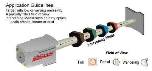 Dual-Wavelength Temperature Sensor