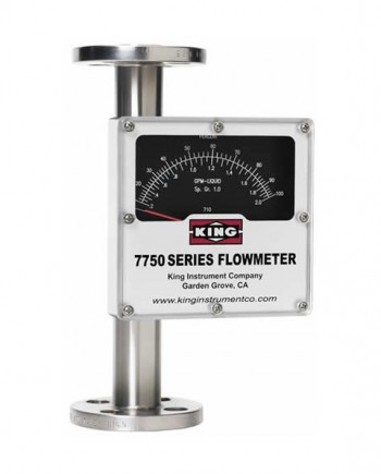 King 7750 Series Rotameter
