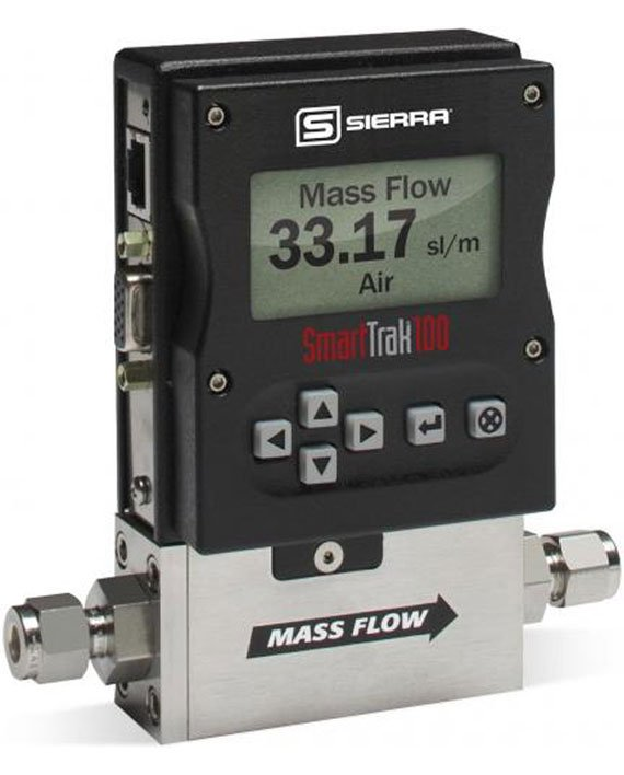 Model 100 Smart-Trak 2 Mass Flow Meter and Controller