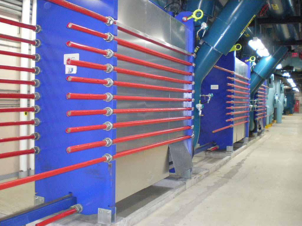 Heat Exchanger Flow and Temp Sensor